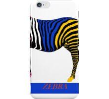 Zebra Zoom 16A iPhone Case/Skin