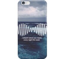 arctic monkeys cover  iPhone Case/Skin