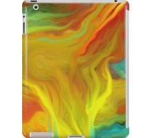 AGATE ABSTRACT OIL PAINTING iPad Case/Skin