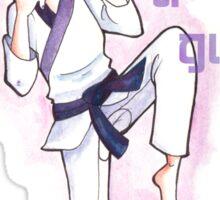 Women in Martial Arts  Sticker