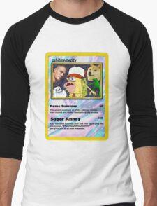 memecity Men's Baseball ¾ T-Shirt