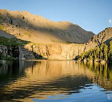 Sunset at Willow Lake - Sangre de Cristo Wilderness, Colorado by Jason Heritage
