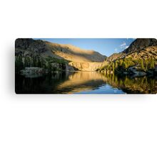 Sunset at Willow Lake - Sangre de Cristo Wilderness, Colorado Canvas Print