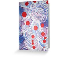 MOTHER MOTHER MUDRA Greeting Card
