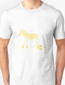 Zebra Rock It 13B Unisex T-Shirt