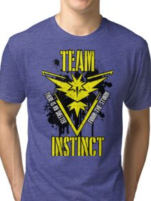 Team Instinct - There is No Shelter From the Storm #1 Tri-blend T-Shirt