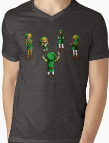 Orchestra of Time Mens V-Neck T-Shirt