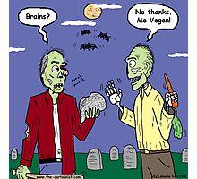 Zombie Vegan Photographic Print