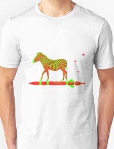 Zebra Rock It 12A Unisex T-Shirt