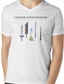 Choose Wisely Mens V-Neck T-Shirt
