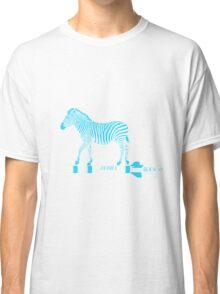 Zebra Rock It 10B Classic T-Shirt