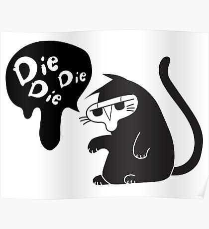 Reaper Kitty Poster
