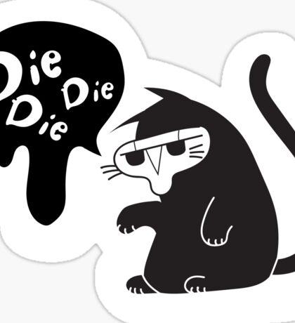 Reaper Kitty Sticker