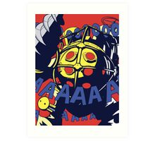 Pop Daddy (onomatopoeia) Art Print