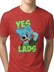 Yes Lads! Tri-blend T-Shirt