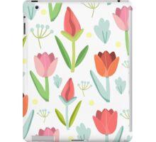 Cute Tulips Seamless Pattern iPad Case/Skin