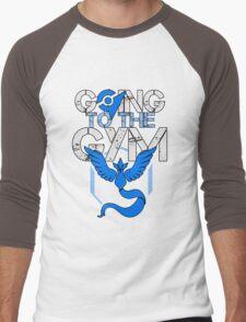 Team Mystic - Going to the Gym Men's Baseball ¾ T-Shirt