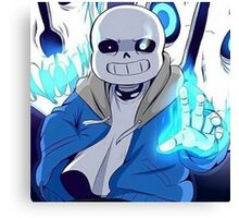 Art of Undertale Videogame Canvas Print