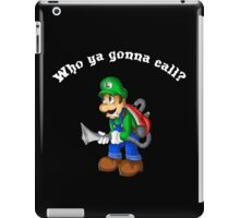 Boo-busters! iPad Case/Skin