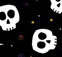 Skull Toss Sticker