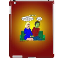 Zombie Dating iPad Case/Skin