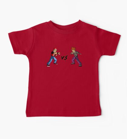 Red Vs Blue Baby Tee