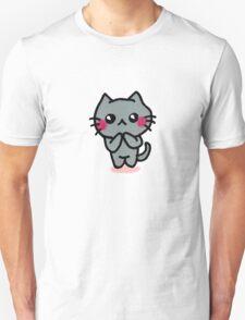 Kawaii Kätzchen Unisex T-Shirt