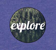 Explore Landscape Tri-blend T-Shirt