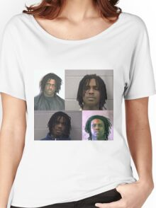 Chief Keef Mugshots Women's Relaxed Fit T-Shirt
