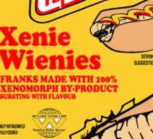 Xenie Wienies Sticker