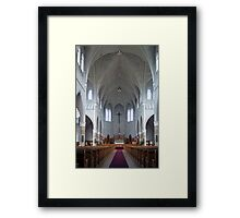 St. Benard Church, Nova Scotia Framed Print