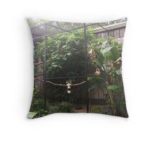 Caged Bird Sings Throw Pillow
