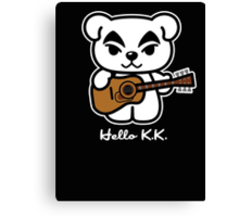 Hello K.K. Canvas Print