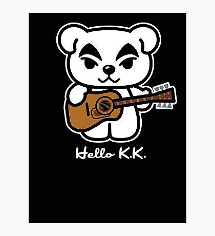 Hello K.K. Photographic Print