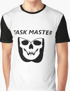 Task Master Skull Graphic T-Shirt