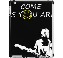 Come as you are - 2 iPad Case/Skin