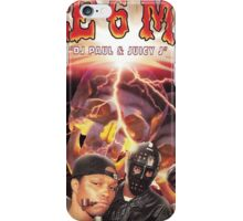 THREE 6 MAFIA MIXTAPE COVER T SHIRT HIPHOP TEE iPhone Case/Skin