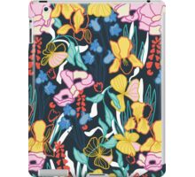 Tropical floral garden iPad Case/Skin