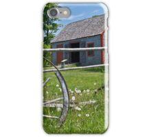 Old Wagon and Shed, Grand Pre, Nova Scotia iPhone Case/Skin