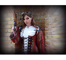 Steampunk Maiden Photographic Print