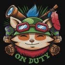 Teemo On Duty by Bamboota
