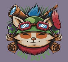 Teemo On Duty Kids Clothes