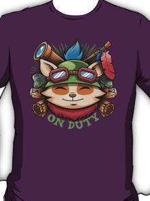 Teemo On Duty T-Shirt