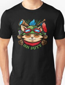 Teemo On Duty T-Shirt