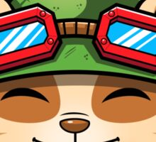 Teemo On Duty Sticker