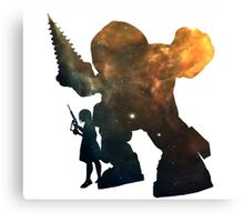 Bioshock - Big Daddy & Little Sister Canvas Print