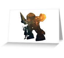 Bioshock - Big Daddy & Little Sister Greeting Card
