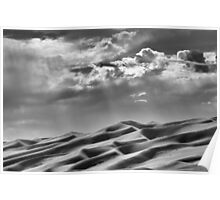 Evening Light, Great Sand Dunes National Park, Colorado Poster