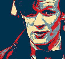 Matt Smith Hope Poster by futuredirewolf