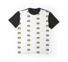 Neon Yellow Lips Graphic T-Shirt